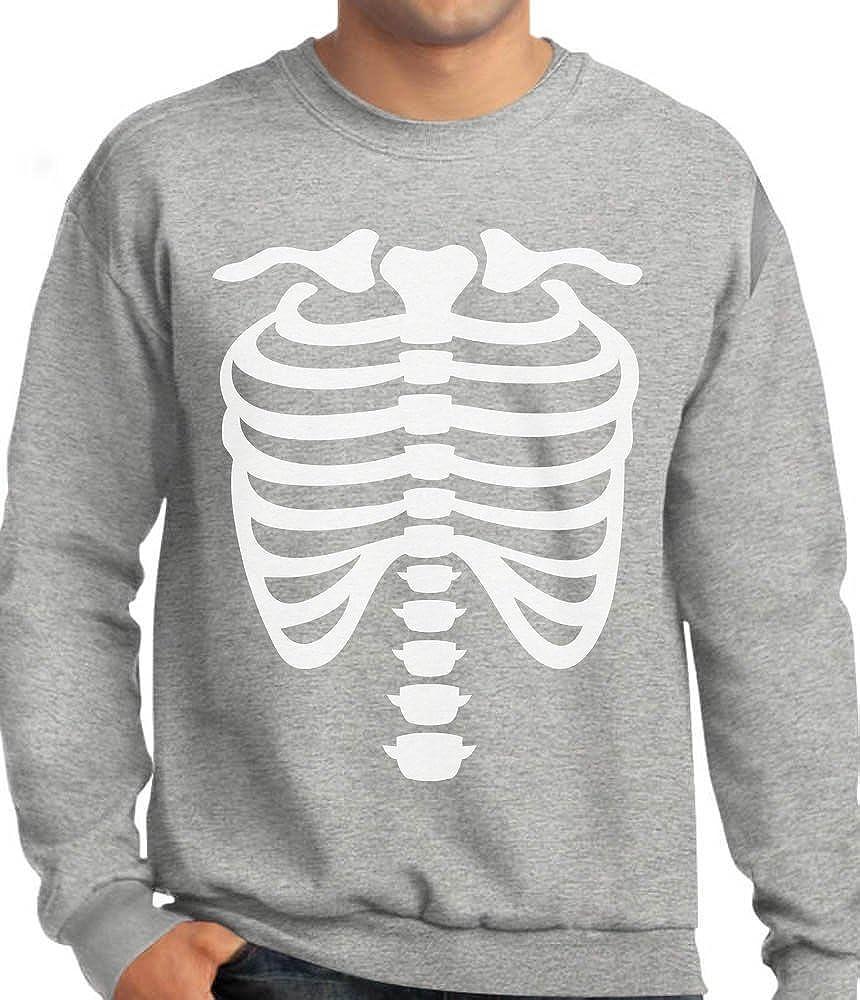 Rib Cage X-ray Skeleton Bones Skull Sweatshirt Gift Idea