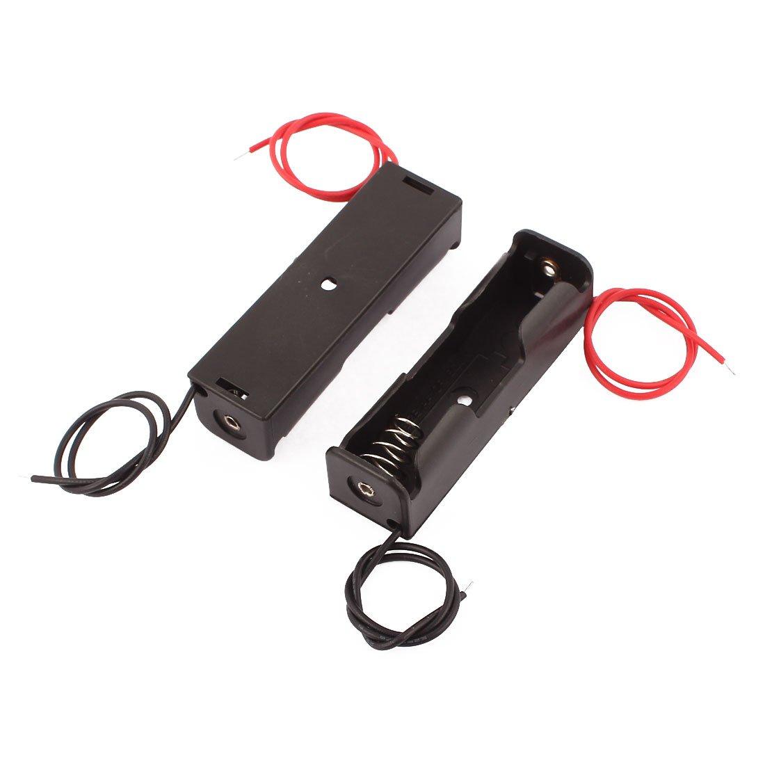 Aexit 10stk. Doppel Draht Batterie Box Offen Halter Speicher Kasten ...