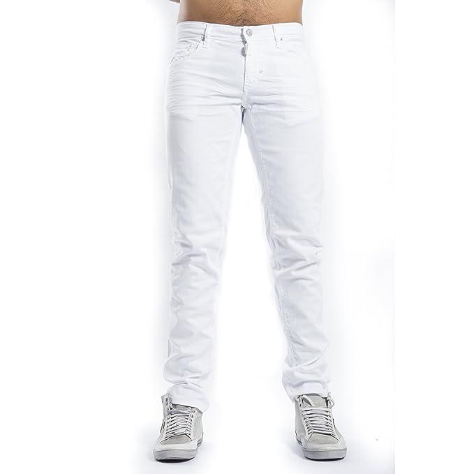 Antony morato - Pantalones vaqueros de color blanco - BIANCO ...