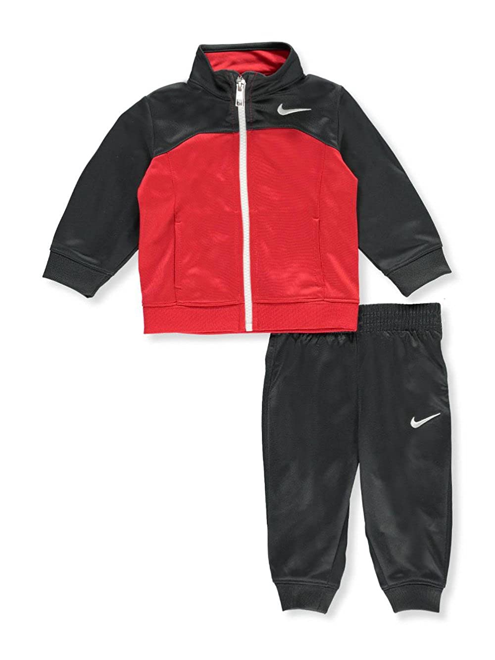 a15422e18 Amazon.com: NIKE Baby Boys' 2-Piece Tricot Tracksuit - Anthracite, 6-9  Months: Sports & Outdoors
