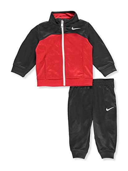 1766535978 Amazon.com: NIKE Baby Boys' 2-Piece Tricot Tracksuit - Anthracite, 6 ...