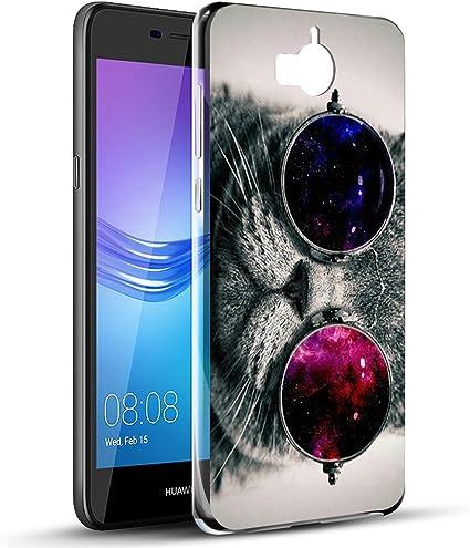 Eouine Cover Huawei Nova Young, Cover Trasparente con Disegni, Morbido Antiurto Gel Bumper Case Custodia in TPU Silicone per Huawei Nova Young / Y5 ...