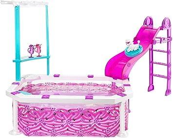 Barbie R4206-0 - Piscina: Amazon.it: Giochi e giocattoli