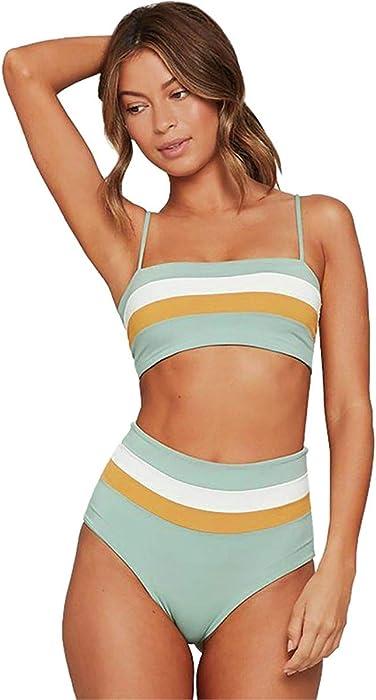 4b96cdf5bb39 Amazon.com  LSpace Women s Portia Stripe Reversible Bikini Bottoms ...