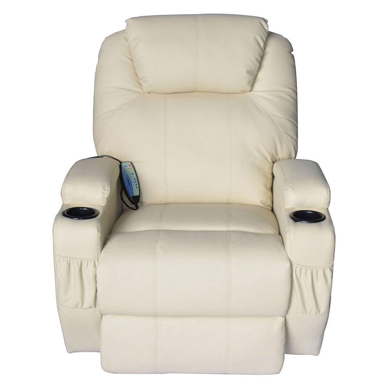 Amazon Tenive Deluxe Heated Vibrating PU Leather Massage