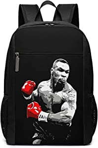 AprilMCohen Unisex Mike-Tyson Boxing Legend Backpack Extra Large Travel Laptop Backpack Durable Lightweight Daypacks