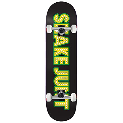 c86941aa688 Amazon.com   Shake Junt Skateboard Complete Logo 8.25
