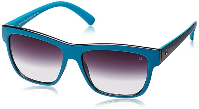 0bbf31a1fb Image Unavailable. Image not available for. Colour  United Colors Of  Benetton Wayfarer Blue Sunglasses ...