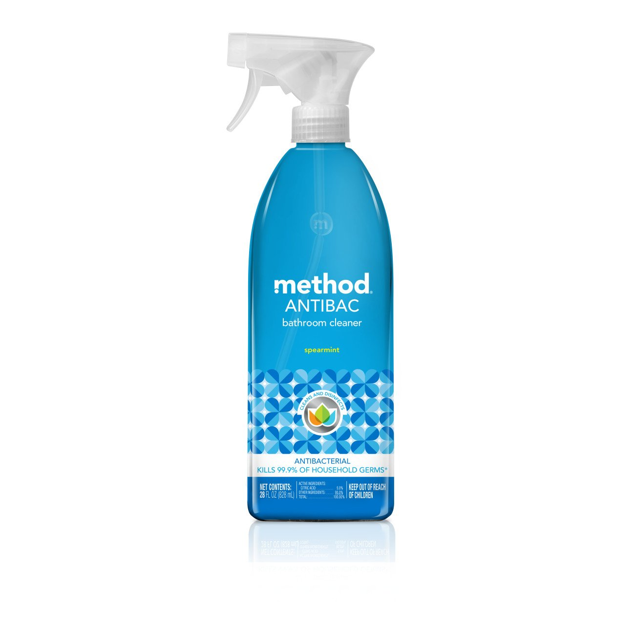 Amazoncom Method Foaming Bathroom Cleaner Eucalyptus Mint - Method bathroom cleaner ingredients