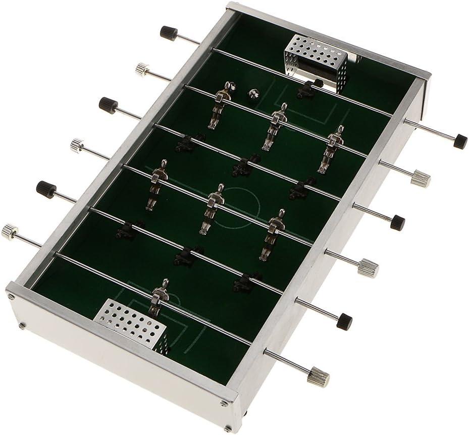 Juguetes Juegos de Mesa Mini Máquina Futbolín Partido de Fútbol Metal Niños: Amazon.es: Juguetes y juegos