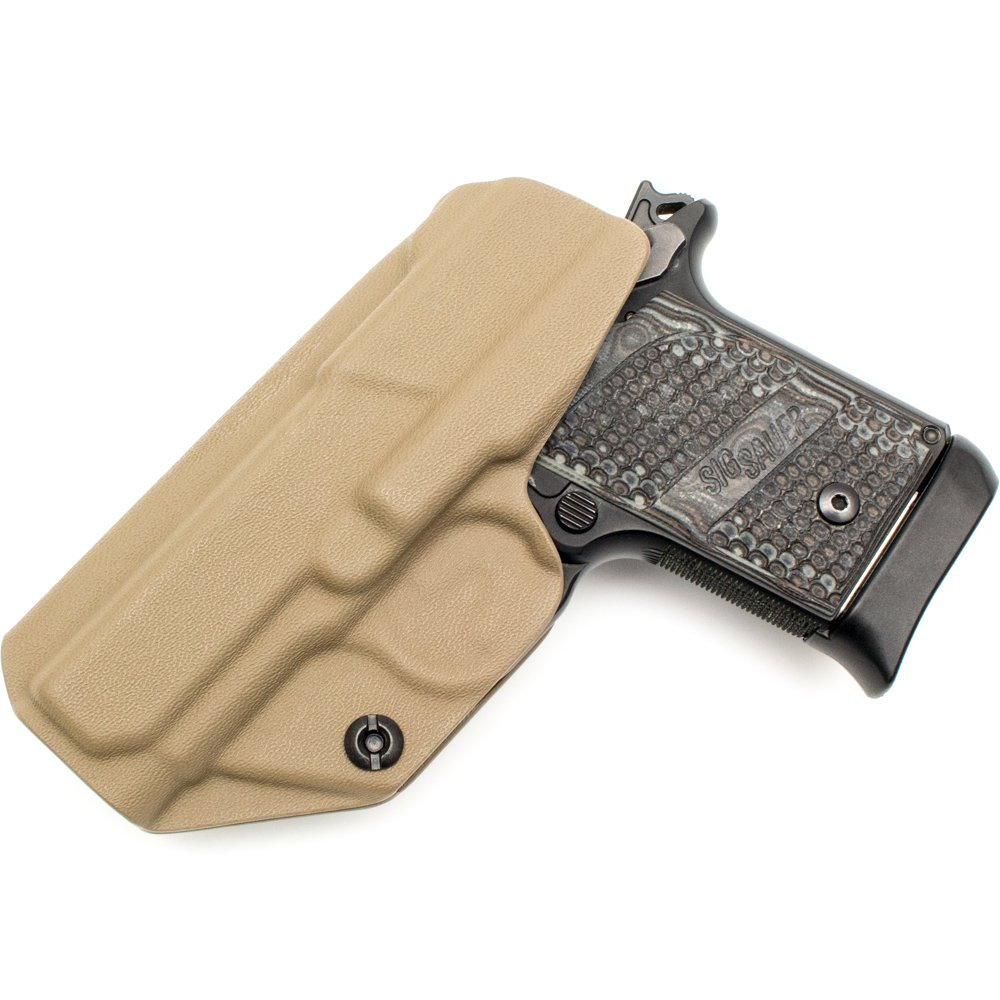 Tulster Sig P938 Holster IWB Profile Holster (Flat Dark Earth - Right Hand) by Tulster (Image #2)