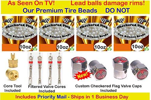 Tire Balance Beads Tires 35X12.50X20, 37X12.50R15 37X12.5...