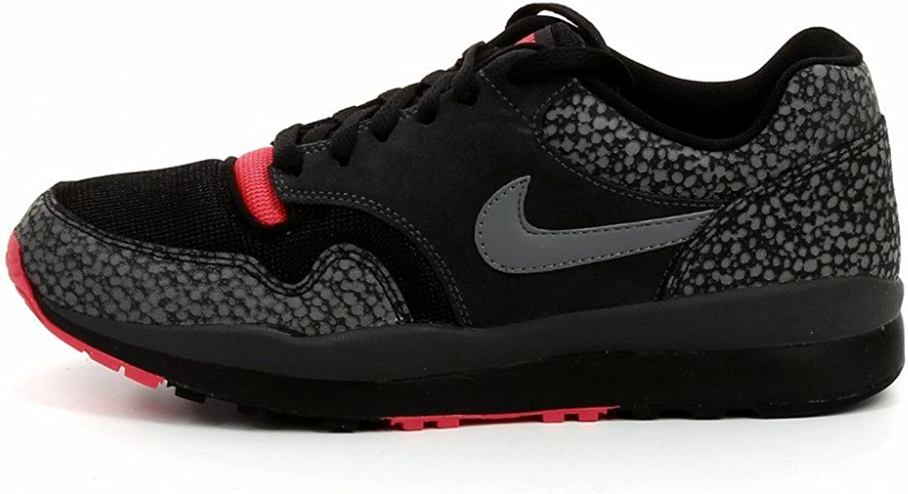 Nike Air Safari BlackGreyRed Trainers (371740 060) (UK 8