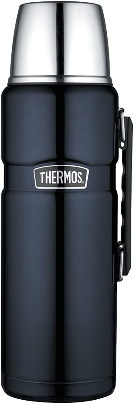 Thermos King 68 Ounce Bottle, 2 L, Midnight Blue