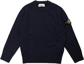 Stone Island Junior Crew Neck Sweater Kids Boy Model 7316506A1