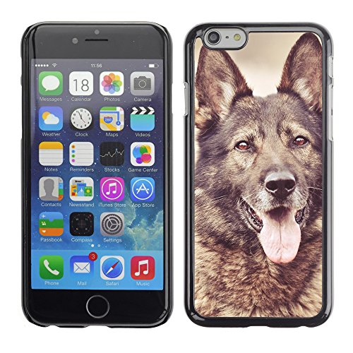 """Premio Sottile Slim Cassa Custodia Case Cover Shell // V00003340 chien de race berger allemand // Apple iPhone 6 6S 6G PLUS 5.5"""""""