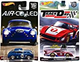 Hot Wheels Air Cooled Porsche 356A Outlaw + Track Day '78 Porsche 935 Real Rider Tires & Metal/Metal Design 2017 Car Culture