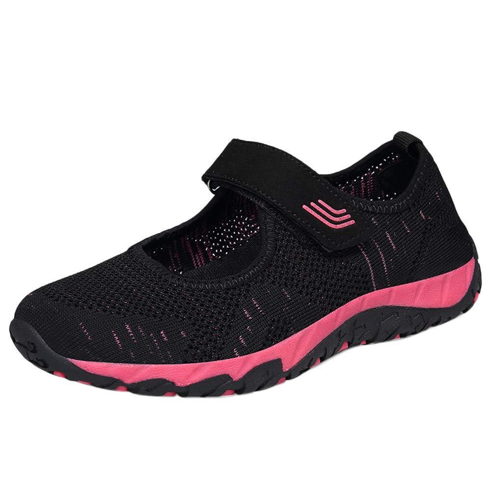 FORUU Fashion Women Flying Woven Comfortable Lightweight Shoes Casual Shoes Mesh Shoes