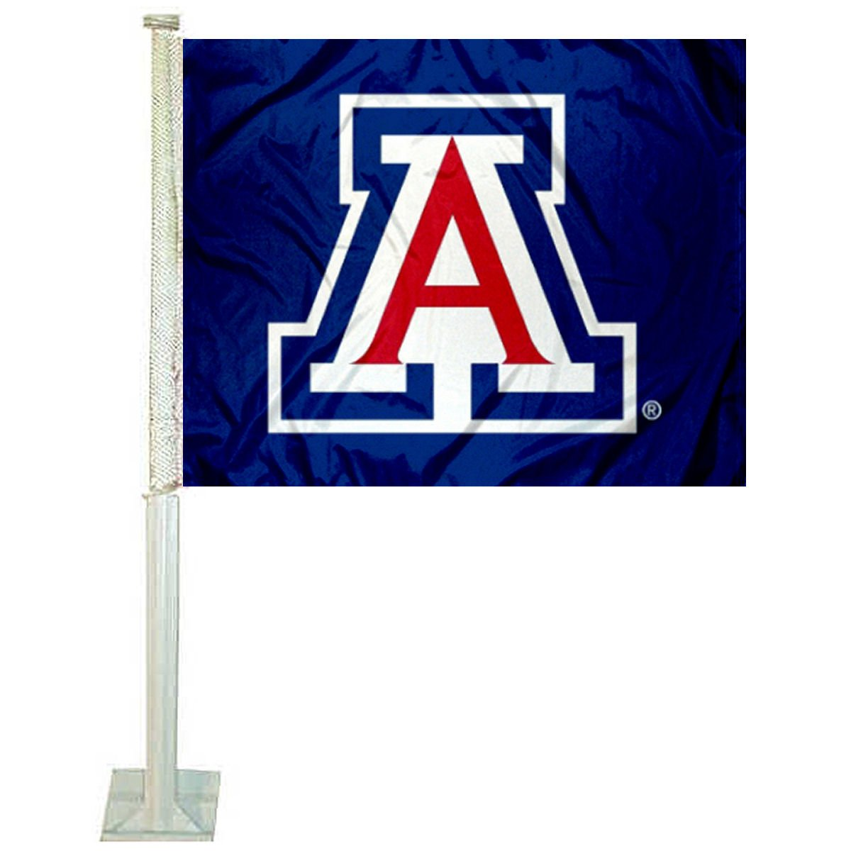 Arizona Wildcats Blue Car Flag College Flags and Banners Co.