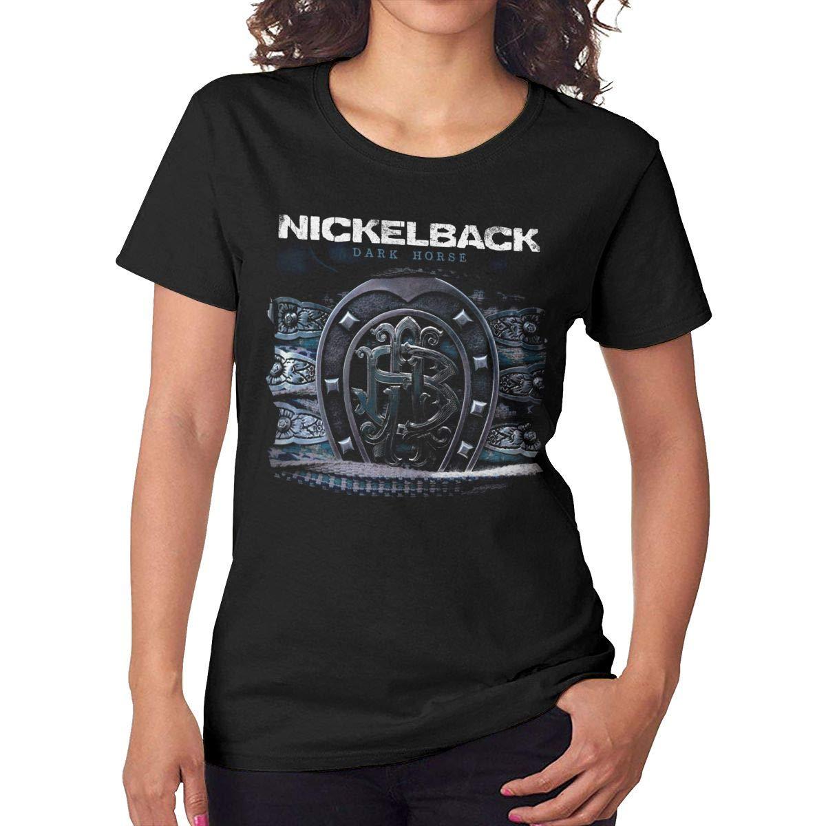 Carterh S Nickelback Dark Horse T Shirts Black