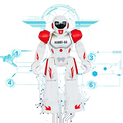 Remote Control RC Robots Toys Think Wing Interactive Funny machine with LED  Eyes, Speaking, Singing, Dancing, Walking, Sliding, A Good Beginner