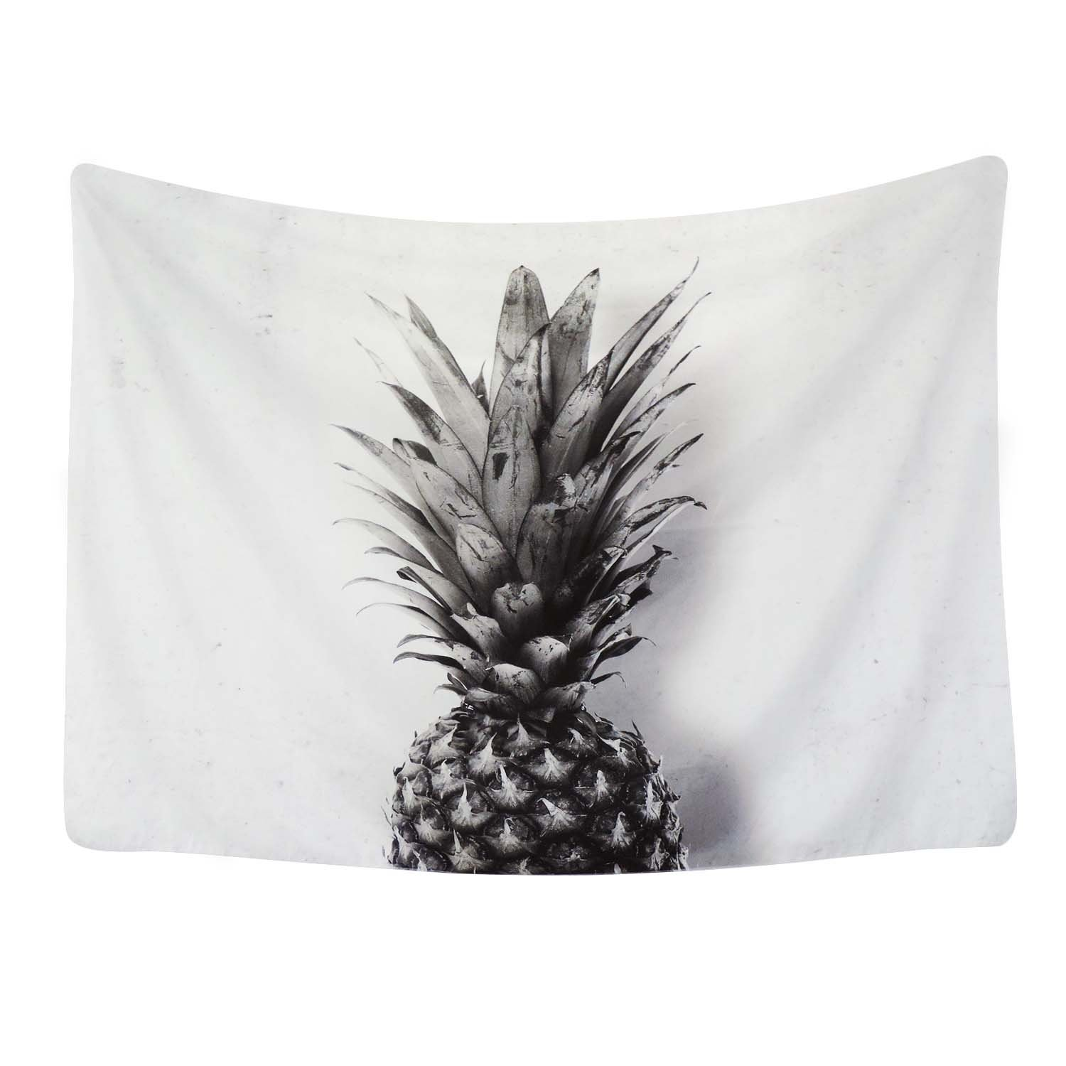 Sunm boutique Pineapple Tapestry Wall Art Hanging Tapestry for Living Room Bedroom Dorm Home Decor (51''x59'', Pineapple-1) by Sunm boutique