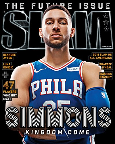 Slam Magazine (July/August, 2018) The Future Issue: Ben Simmons Philadelphia 76ers Cover
