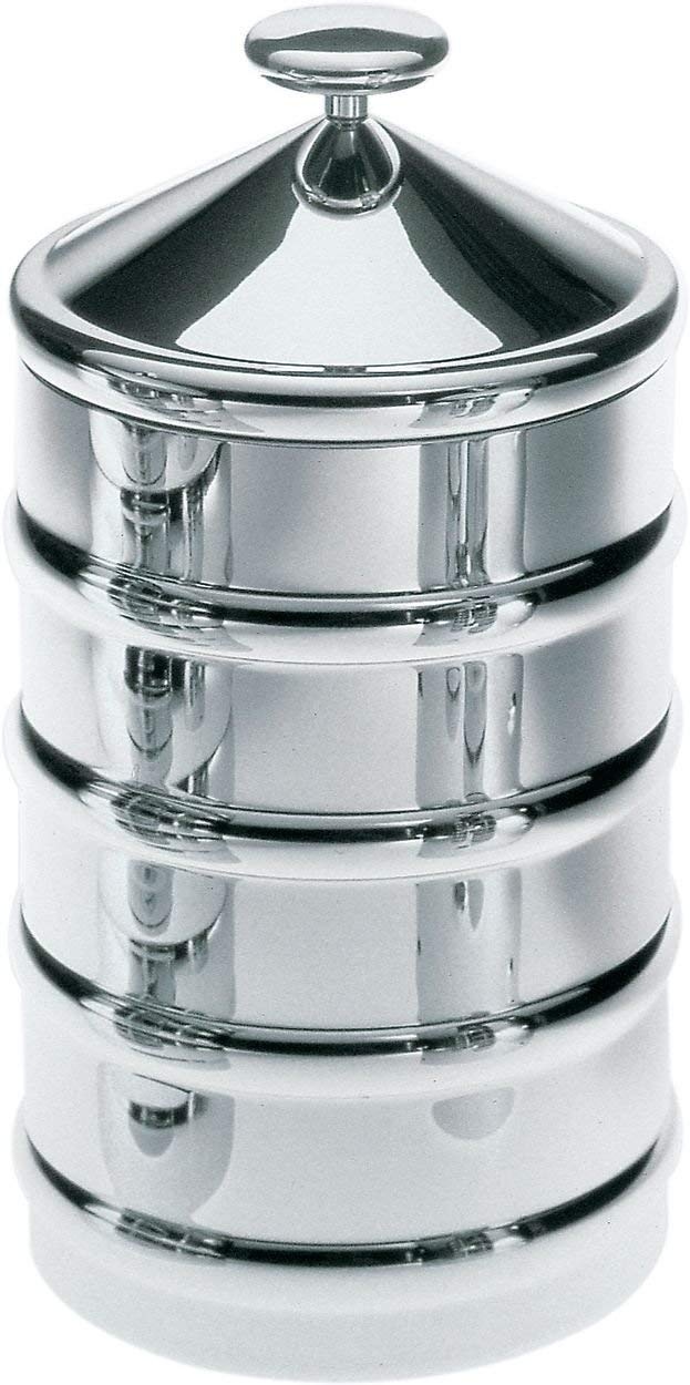 Alessi CB03''Kalisto' 3'' Kitchen Box 3'' Silver
