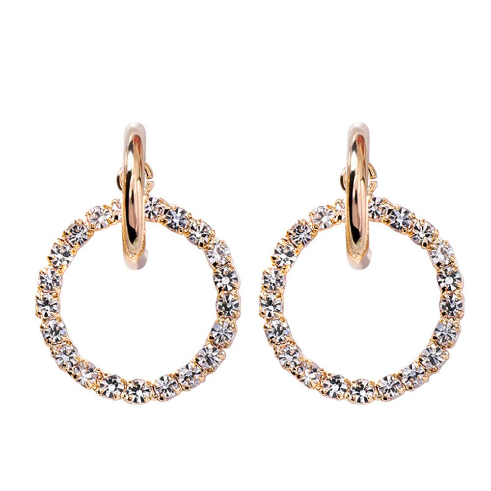 Concise Atmosphere Fashion There is Always one for You Earrings