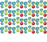 JW iSqueak Rubber Ball Large 48pk