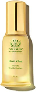 product image for Tata Harper Elixir Vitae, Anti-Aging Quadruple Neuropeptide Face Serum, 100% Natural, Made Fresh in Vermont, 30ml