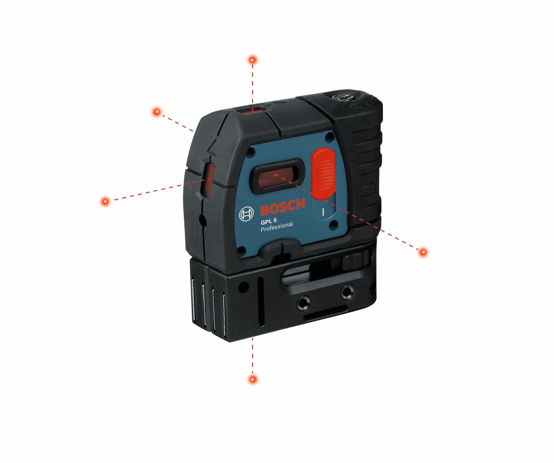 Bosch GPL 5 5-Point Alignment Laser