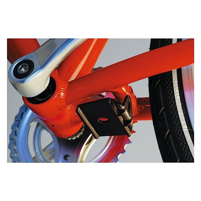 HEBIE Fahrrad St/änder Adapter Platte zum Nachr/üsten Mittelbau St/änder Kunststoff