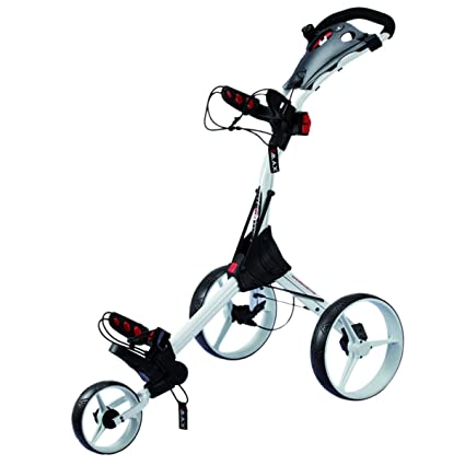 BIG MAX IQ Push 3- Rad Trolley Golftrolley Caddy wei?