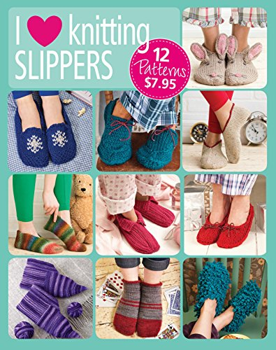I Love Knitting Slippers ()