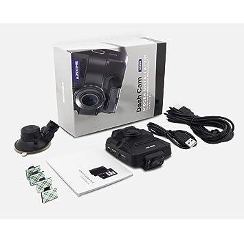 """Dash CAM, Lente Dual 1080P HD 2.4"""" cámara del Coche DVR videograbadora de conducción"""