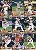 2018 Topps Series 2 Baseball Baltimore Orioles Team Set of 12 Cards: Brad Brach(#358), Alex Cobb(#420), Anthony Santander(#433), J.J. Hardy(#437), Ubaldo Jimenez(#451), Tim Beckham(#532), Joey Rickard(#564), Chris Davis(#587), Caleb Joseph(#597), Zach Britton(#603), Jeremy Hellickson(#619), Seth Smith(#663)