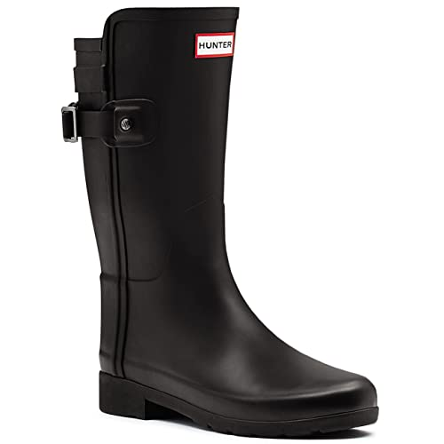 57dfa1850ff Womens Hunter Original Refined Back Strap Short Wellingtons Winter Boots