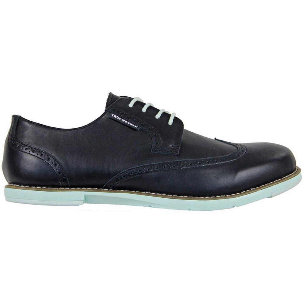 [TRUE linkswear] メンズ 9.5 D(M) US Black / Mint B00IV2XNEO