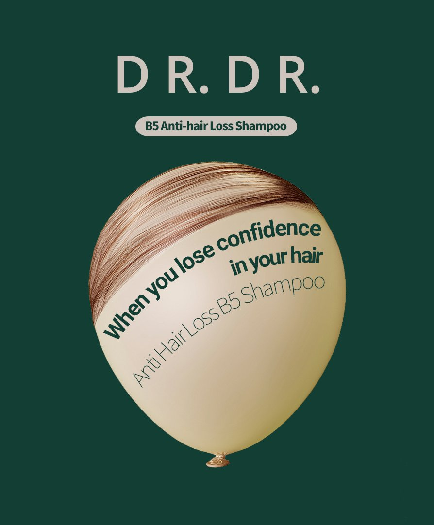 Drdr B5 Anti Hair Loss Shampoo 500 Ml