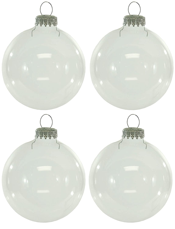 Clear glass ball ornaments - Clear Glass Ball Ornaments 43