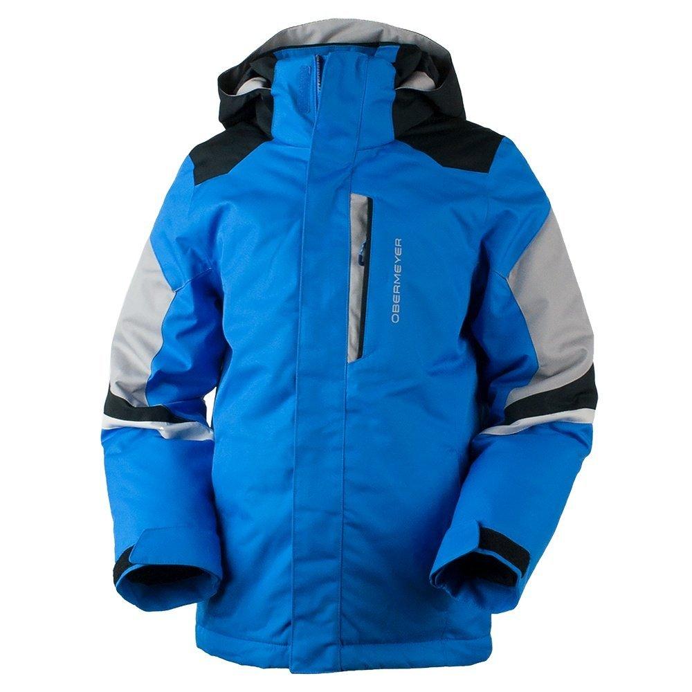 Obermeyer Kids  Boy's Fleet Jacket (Little Kids/Big Kids) Stellar Blue X-Large