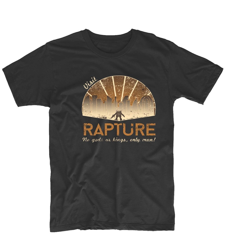 Arnoldo Blacksjd Visit Rapture BioShock Subject Delta V2 Unisex Printing Design Tee