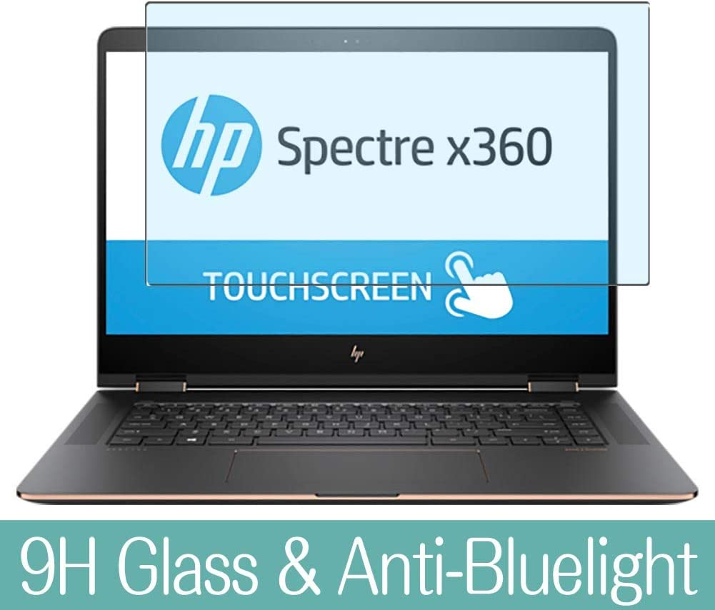 "Synvy Anti Blue Light Tempered Glass Screen Protector for HP Spectre x360 15-bl000/bl012dx/bl112dx/bl152nr/bl000na/bl075nr/bl000ng/bl000nf/bl000no/bl000nl/bl000ur 15.6"" Visible Area"