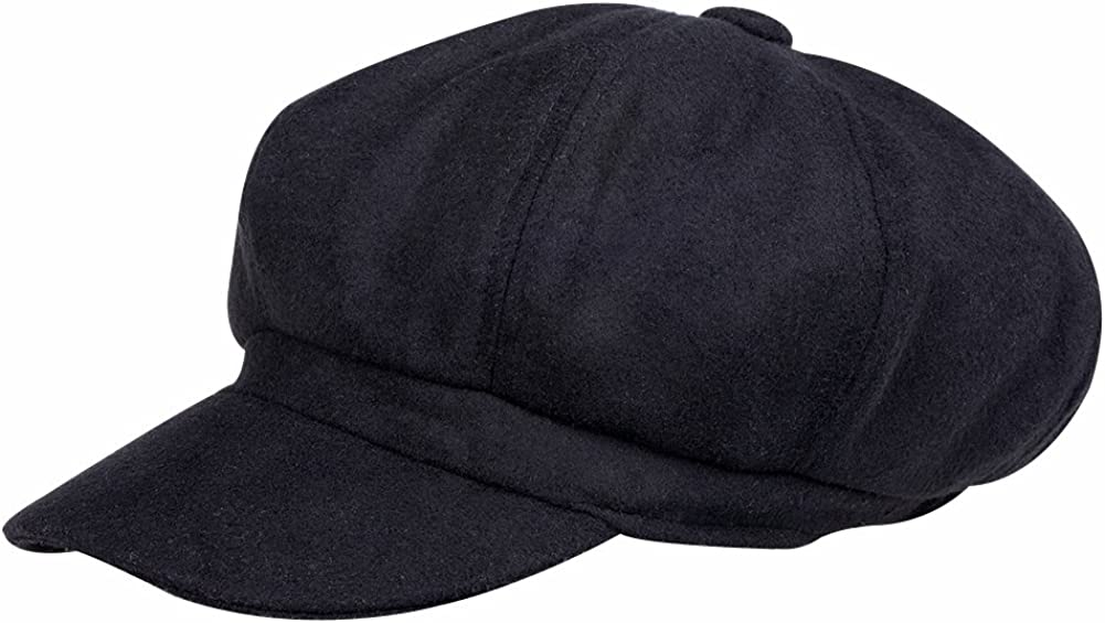 VBIGER Newsboy Hat Beret Hat Fedora Wool Blend Cap Collection Hats Cabbie Visor Cap for Men Women