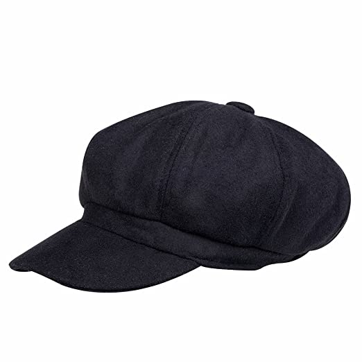 f276bdeb5c69 VBIGER Newsboy Hat Beret Hat Fedora Wool Blend Cap Collection Hats Cabbie  Visor Cap for Men Women