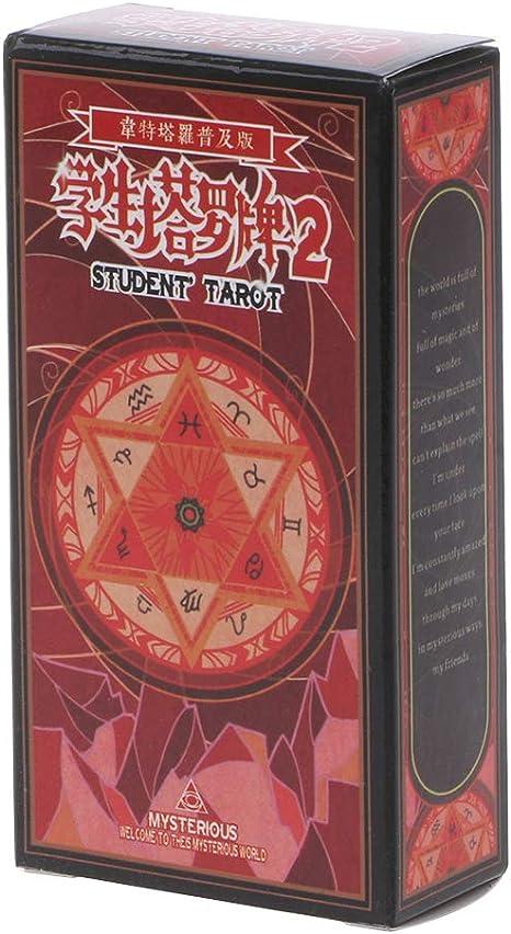 Rider Tarot Tarjetas con caja colorida misteriosa Divinación Astrología Juego de mesa: Amazon.es: Hogar