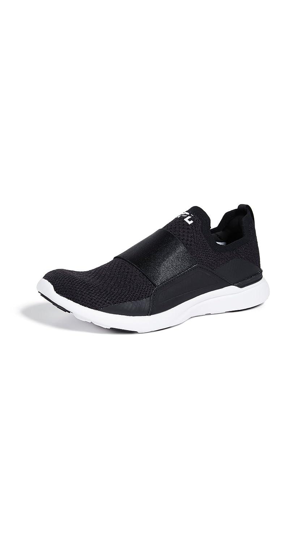 APL: Athletic Propulsion Labs Women's Techloom Bliss Sneakers B07FK12PDP 5 B(M) US|Black/Black/White