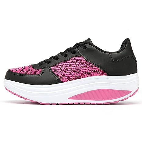 Logobeing Zapatillas de Mujer, Zapatillas de Deporte Deportivas ...