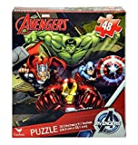 Avengers 48 Piece Puzzle (10 x 9 inches) HULK THOR CAPTAIN AMERICA IRON MAN Marvel Superheroes